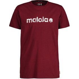 Maloja SarpangM. T-Shirt Men red monk